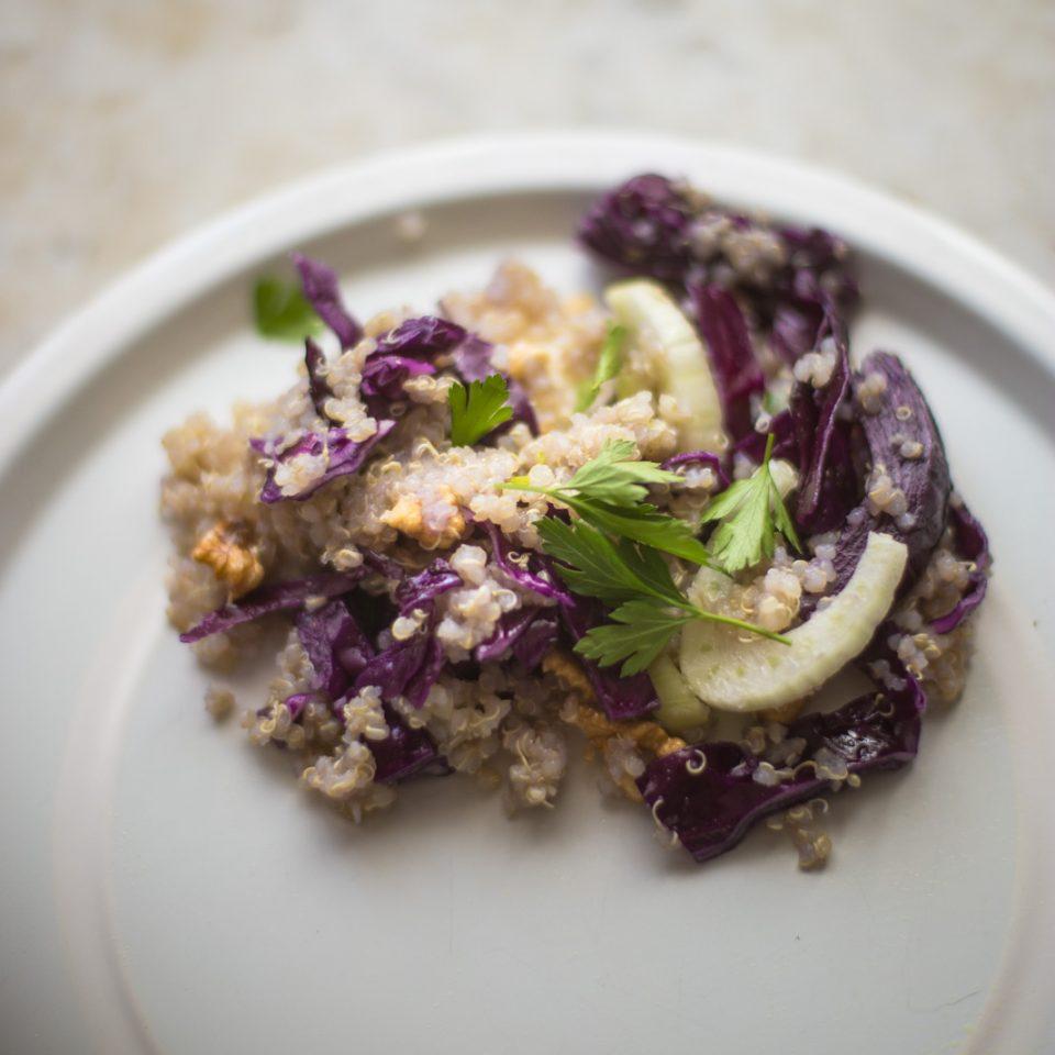 Qinoa salad