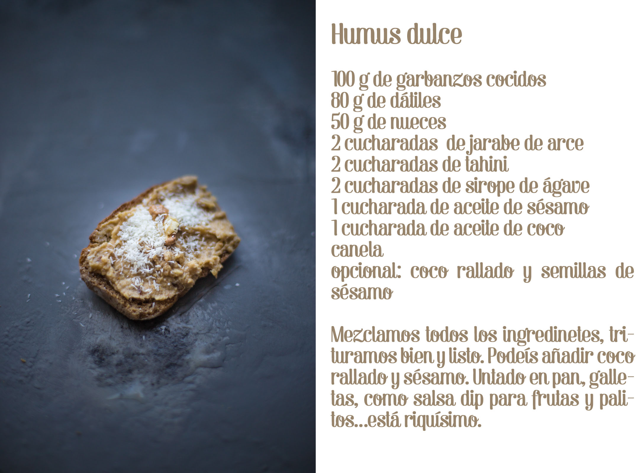 Sweet hummus