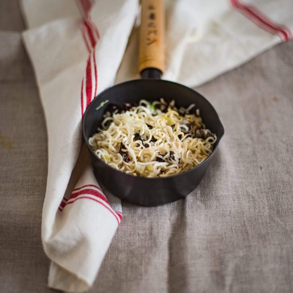 Chinese vegan noodles