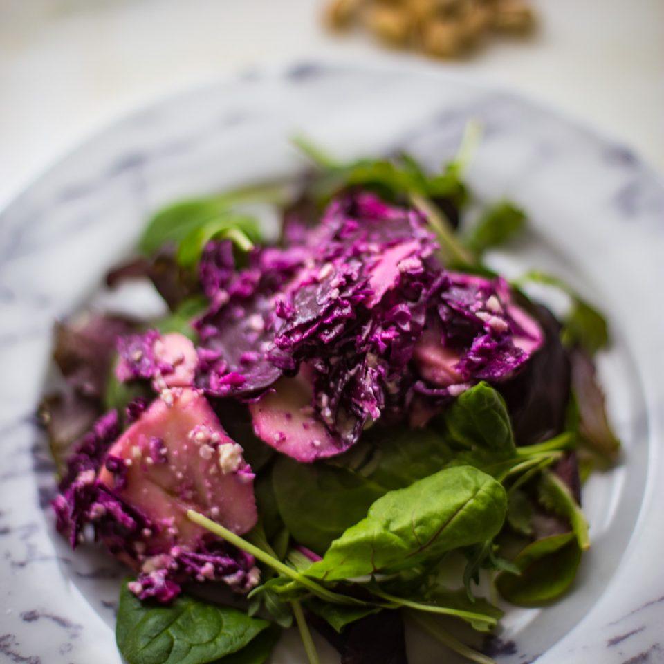 radicchio and apple salad